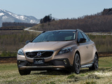 Pictures of Volvo V40 Cross Country JP-spec 2013