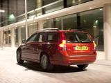 Images of Volvo V50 D2 UK-spec 2010–12