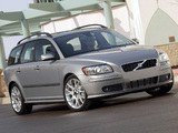 Photos of Volvo V50 T5 2005–07