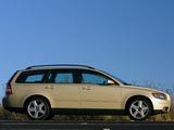 Photos of Volvo V50 T5 AU-spec 2005–07