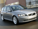 Pictures of Volvo V50 T5 2005–07