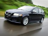 Pictures of Volvo V50 R-Design 2008–09