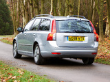 Pictures of Volvo V50 DRIVe UK-spec 2009