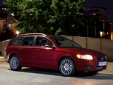 Pictures of Volvo V50 D2 UK-spec 2010–12
