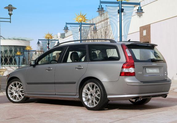 Volvo V50 T5 2005–07 images