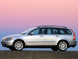 Volvo V50 T5 ZA-spec 2005–07 wallpapers