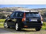 Volvo V50 R-Design 2008–09 photos