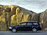Volvo V50 R-Design 2008–09 wallpapers