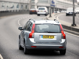 Volvo V50 DRIVe UK-spec 2009 images