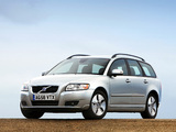 Volvo V50 DRIVe UK-spec 2009 photos