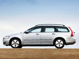 Volvo V50 DRIVe UK-spec 2009 wallpapers