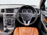Photos of Volvo V60 D5 UK-spec 2010–13