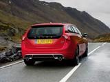 Photos of Volvo V60 R-Design UK-spec 2010–13