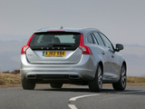 Photos of Volvo V60 D6 Plug-In Hybrid UK-spec 2012–13