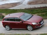 Pictures of Volvo V60 D5 UK-spec 2010–13