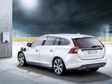 Volvo V60 Plug-in Hybrid Prototype 2011 pictures