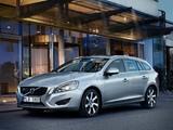 Volvo V60 D6 Plug-In Hybrid 2012–13 images