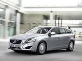 Volvo V60 D6 Plug-In Hybrid 2012–13 pictures