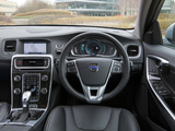 Volvo V60 D6 Plug-In Hybrid UK-spec 2012–13 wallpapers