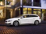 Volvo V60 D6 Plug-In Hybrid 2013 images