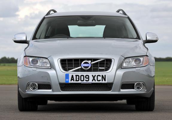 Volvo V70 R-Design UK-spec 2009–11 photos