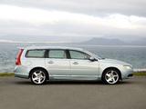 Volvo V70 UK-spec 2007–09 wallpapers