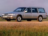 Photos of Volvo V90 UK-spec 1997–98