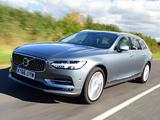 Volvo V90 D5 Inscription UK-spec 2016 pictures