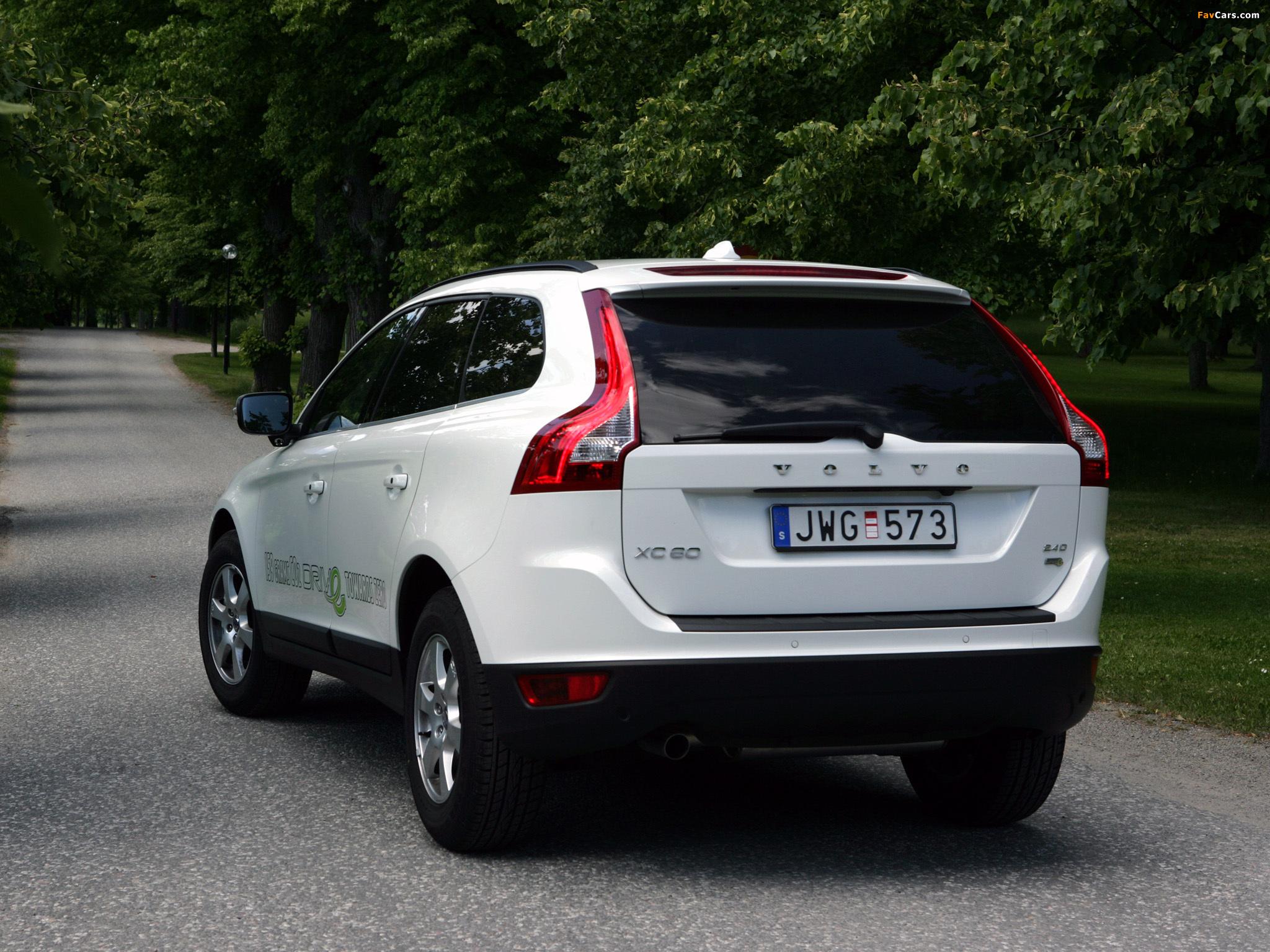 Photos of Volvo XC60 DRIVe Efficiency 2009 (2048 x 1536)