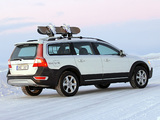 Pictures of Volvo XC70 Ice White 2008