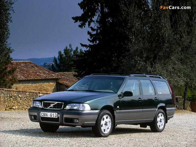 Volvo V70xc 1997 2000 Wallpapers 640x480