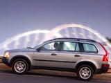 Images of Volvo XC90 ZA-spec 2002–06