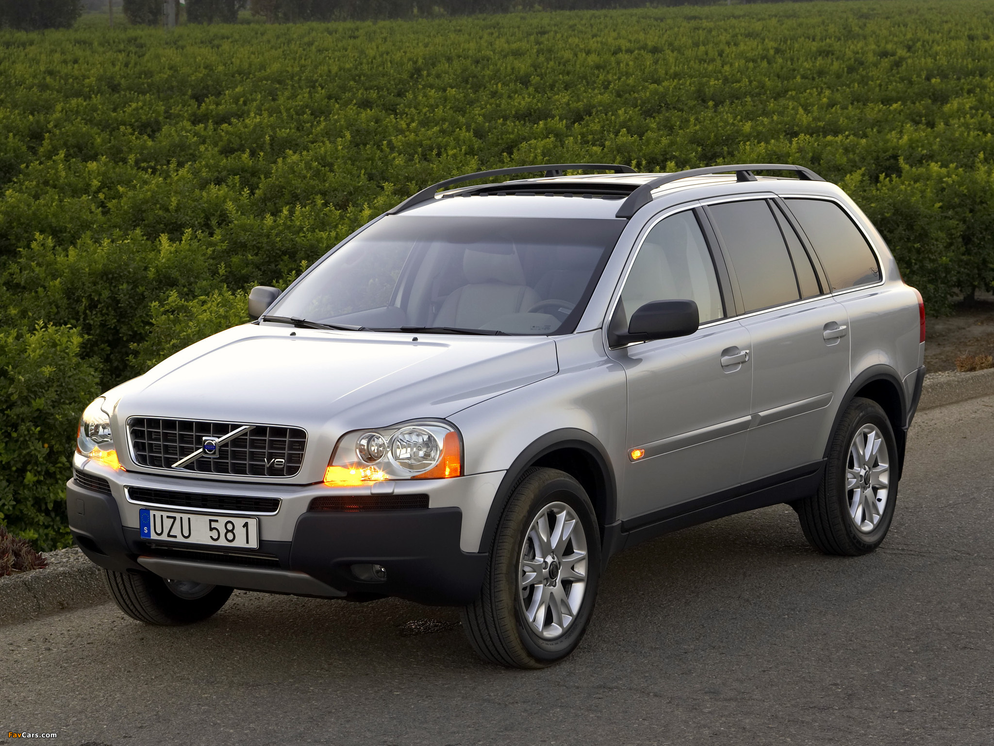 Volvo Xc90 V8 2005 07 Wallpapers 2048x1536