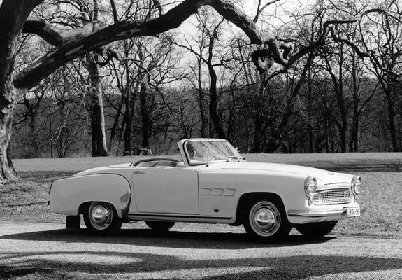 pictures of wartburg 313 1 sport 1957 59. Black Bedroom Furniture Sets. Home Design Ideas