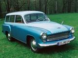 Pictures of Wartburg 311-9 Kombi 1956–66