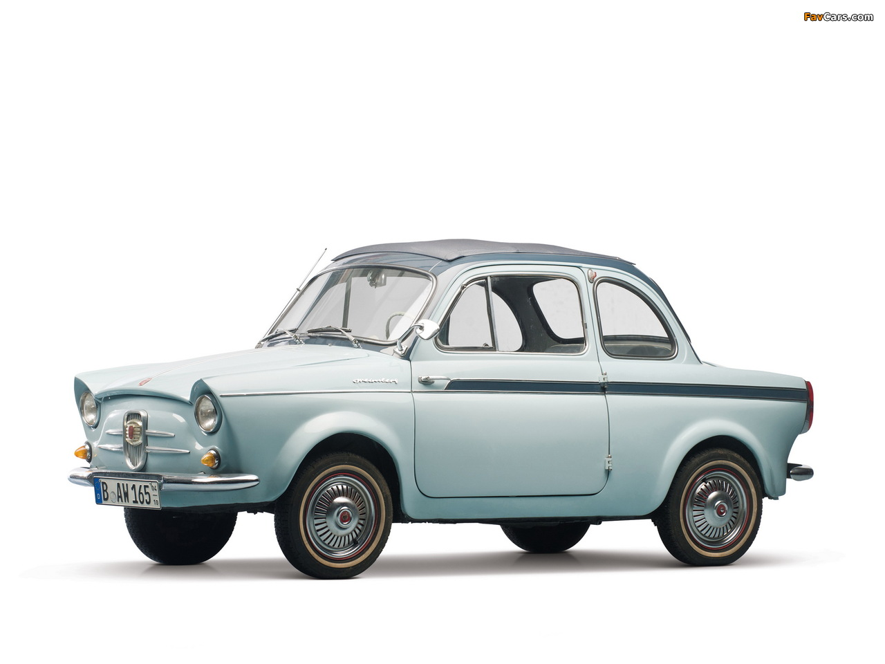Fiat Weinsberg 500 Limousette 1960–63 images (1280 x 960)