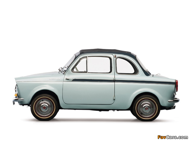Fiat Weinsberg 500 Limousette 1960–63 images (640 x 480)