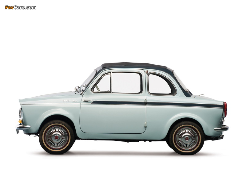 Fiat Weinsberg 500 Limousette 1960–63 images (800 x 600)