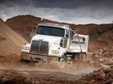 Images of Western Star 4800 SB 8x4 Dump Truck 2008