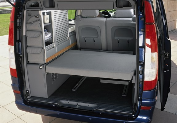 pictures of mercedes benz viano marco polo by westfalia. Black Bedroom Furniture Sets. Home Design Ideas