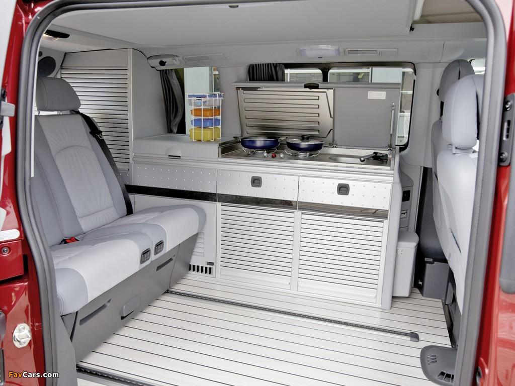 Pictures of Mercedes-Benz Viano Marco Polo by Westfalia (W639) 2010 (1024 x 768)