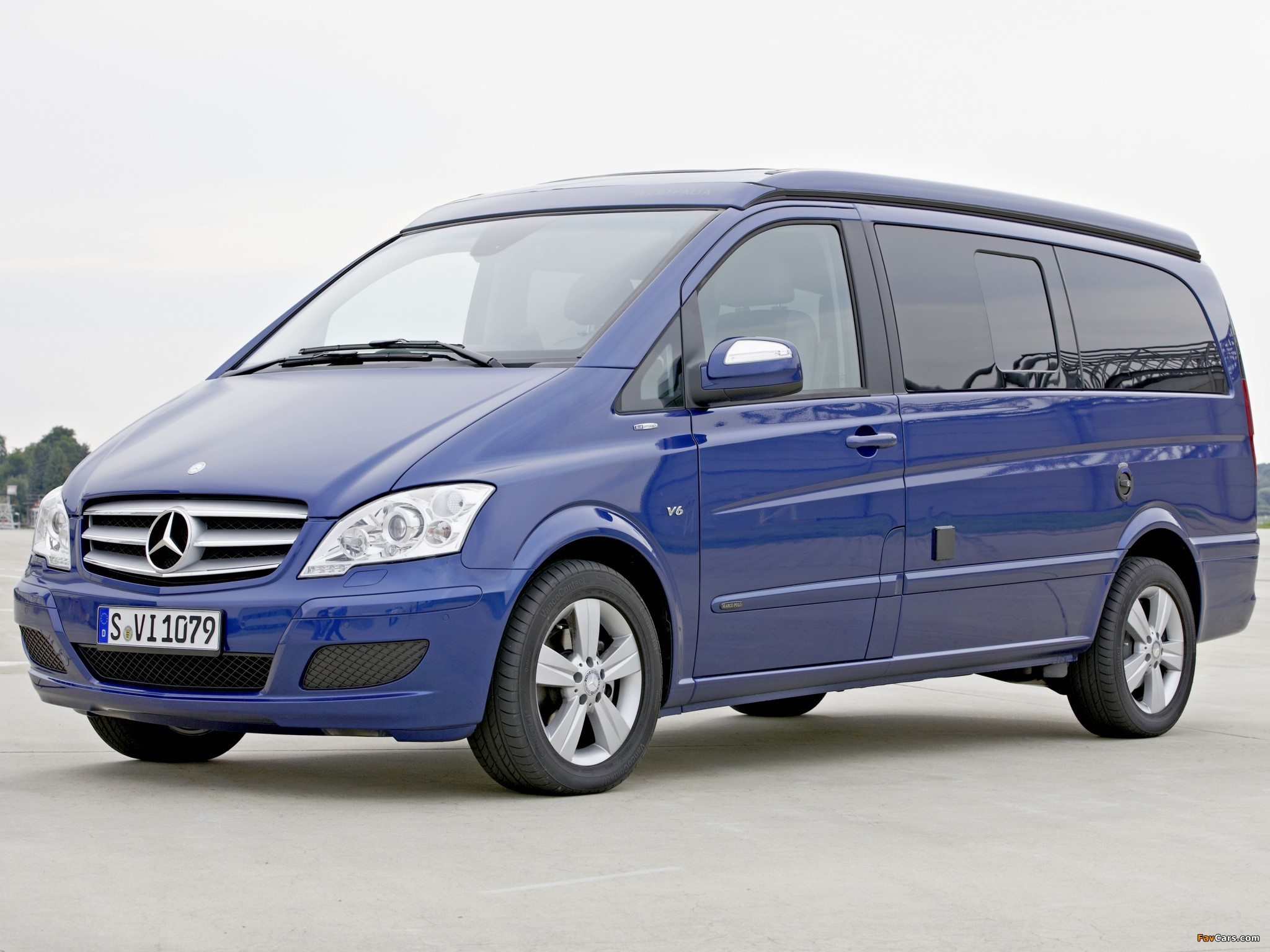 Mercedes-Benz Viano Marco Polo by Westfalia (W639) 2010 wallpapers (2048 x 1536)