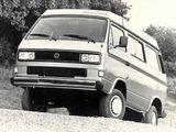 Photos of Volkswagen T3 Vanagon Camper Syncro by Westfalia 1987–91