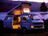 Pictures of Volkswagen T3 Vanagon Camper by Westfalia 1982–87