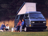 Pictures of Volkswagen T3 Vanagon Camper by Westfalia 1987–91