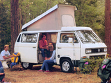 Volkswagen T3 Vanagon Camper by Westfalia 1987–91 wallpapers