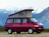 Photos of Volkswagen T4 Eurovan Camper by Westfalia 1997–2003
