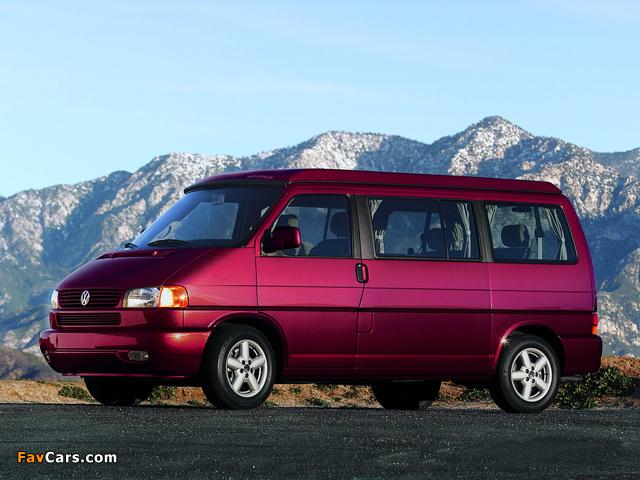 Volkswagen T4 Eurovan Camper by Westfalia 1997–2003 wallpapers (640 x 480)