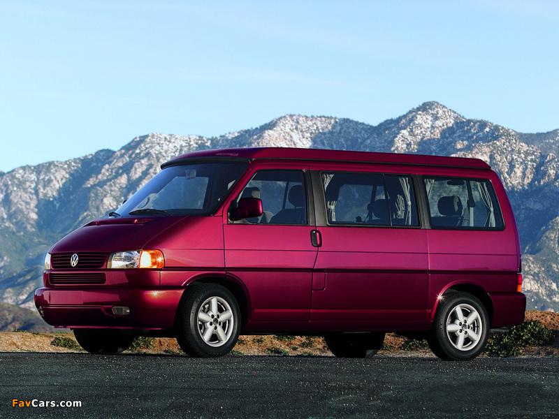 Volkswagen T4 Eurovan Camper by Westfalia 1997–2003 wallpapers (800 x 600)