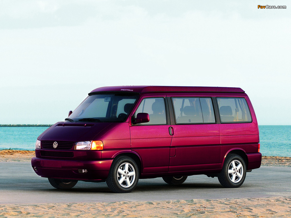 Volkswagen T4 Eurovan Camper by Westfalia 1997–2003 photos (1024 x 768)